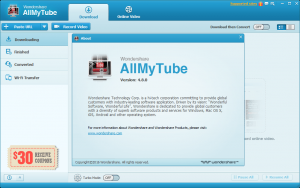 Wondershare AllMyTube keygen Key