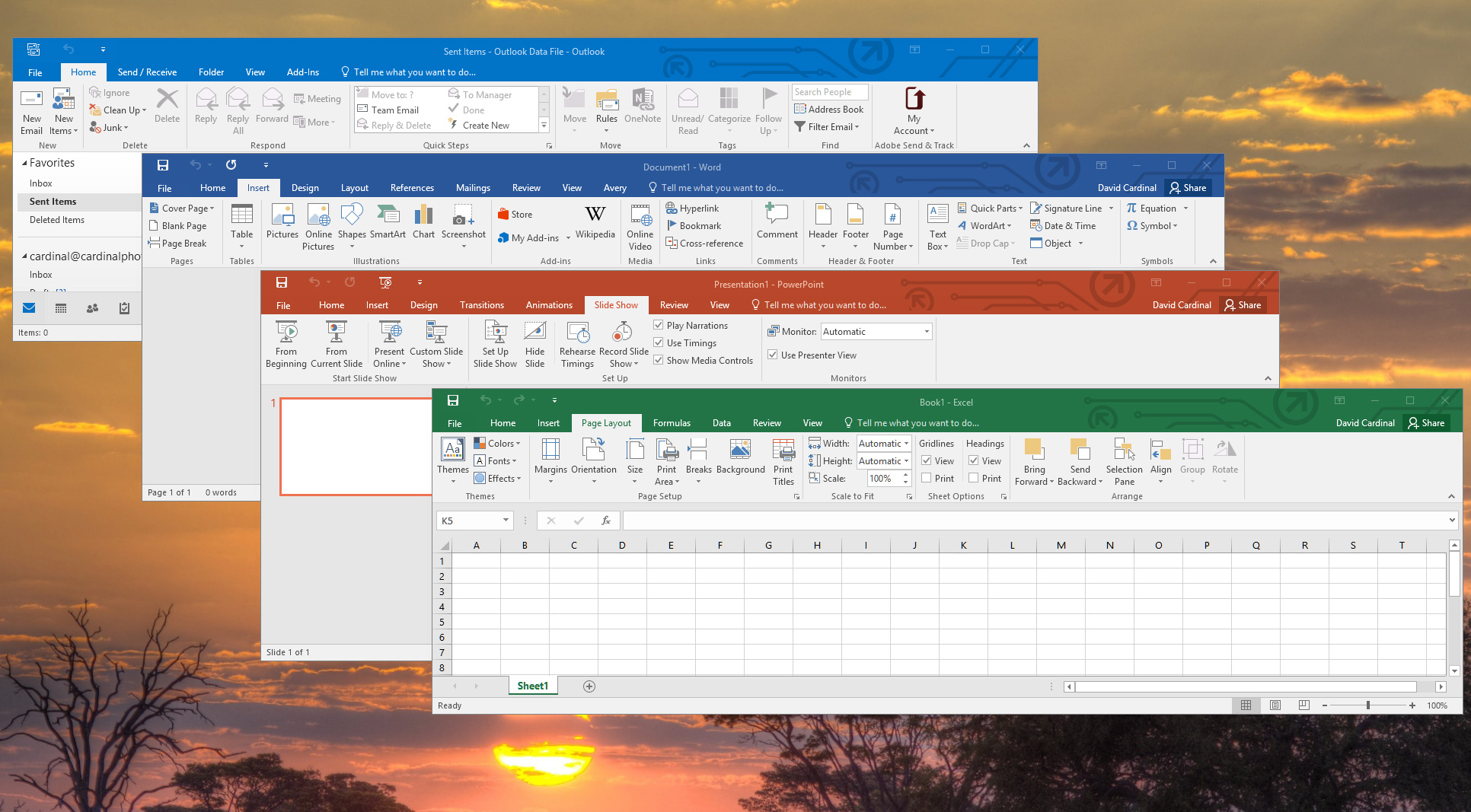 Microsoft Office 2016 download for mac and pc